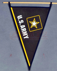 Custom indoor decoration triangle banners