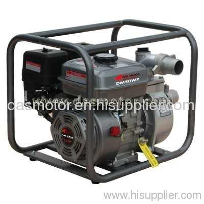 gasoline portable self priming water pump