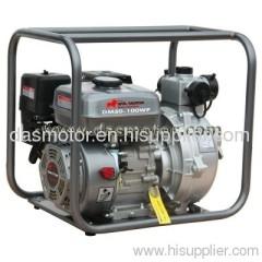 gasoline high presure self priming water pump