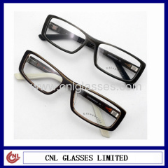 customized reading eyeglasses optical frames with Silica gel tips