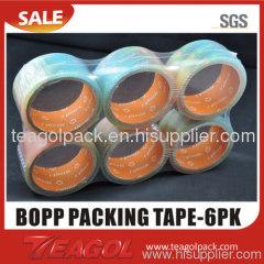 6pcs/shrink Packing Tape