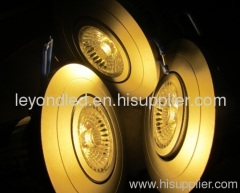 Anti-glare led downlight,anti glare COB LED downlight