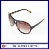 2012 most fashionable tortoise acetate laser sun glasses eyewear