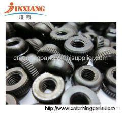 metal black screws nut