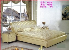 Leather Comfortable bed