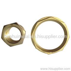 Brass Flange Nut (HN404)
