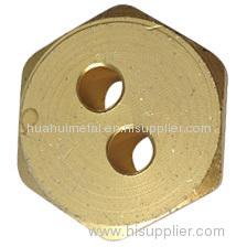 Brass Flange Nut (HN413)