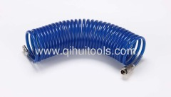 Air Recoil Hose w/ Thread-Nut Connector