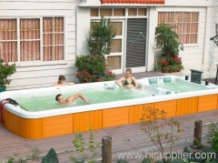 Spa pool outdoor swimming