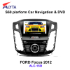 FORD Focus 2012 car gps dvd rearview with 3G DVB-T IPOD PIP usb sd bluetooth