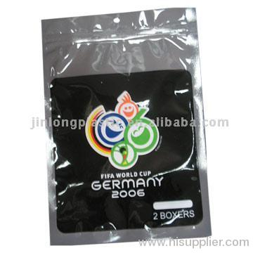 garment plastic bags with zipper