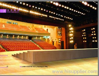 stage machinery,stage lighting,turn-key project contract