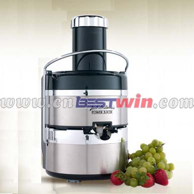 Stainless Steel Juicer with Built-in 600W Powerful Motor