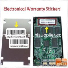 Electronical Warranty Stickers For Laptops