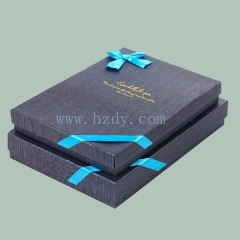 Gift paper box for book