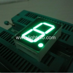 Pure Green 1-inch common anode single digit seven segment led displays
