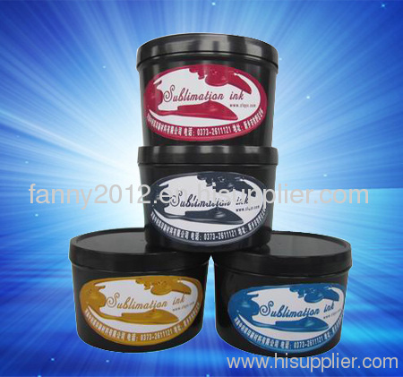 sublimation offset printing ink