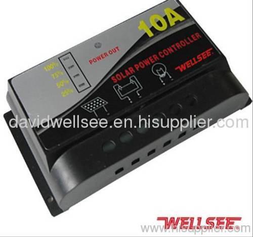 WELLSEE WS-C2415 10A 12/24V Charge regulator