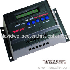 WELLSEE WS-C2460 60A 12/24V PWM Charge Controller