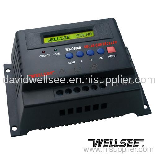 WELLSEE WS-C4860 60A 48V solar panel controller