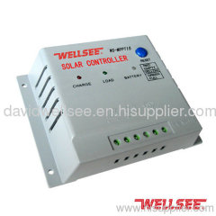 WELLSEE WS-MPPT15 10A 48V solar battery charge controller