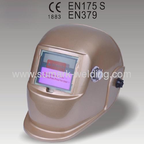 Auto-Darkening Welding Helmet; Safety Products