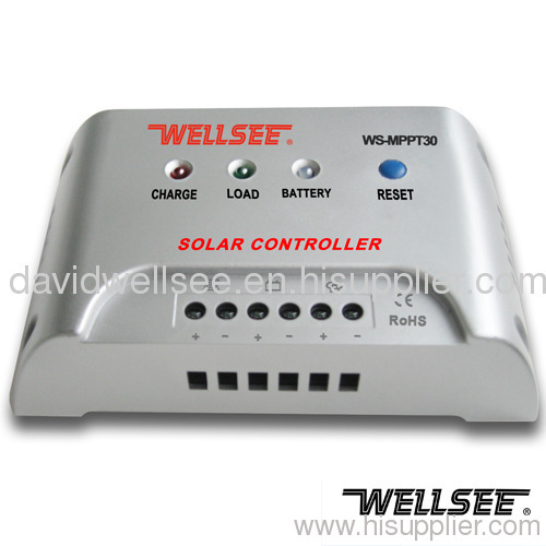 WELLSEE WS-MPPT30 30A 48V battery charger controller