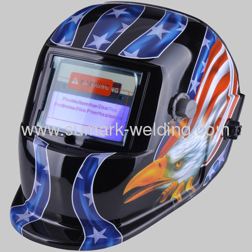 Auto-Darkening Welding Mask; Welding Protection