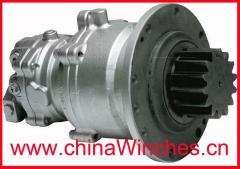 Slew Drive and Rexroth GFB Kayaba (KYB) MSG-27P MSG-44P Hydraulic Gearbox Swing Drive Motor