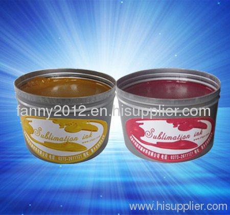 sublimation offset ink for polyester printing