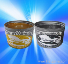 sublimation printing ink for offset machine