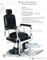 Top-Grade stainless steel Antique Barber Chair