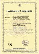 CE-LVD Certification of GP EC Axial Fans