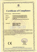 CE-EMC Certification EC axial fans