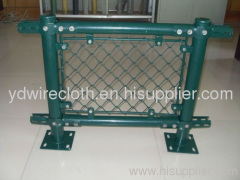 Pvc Mesh Fence PVC chain link fence pvc coated steel fence
