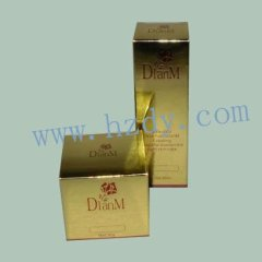 Paper packaging box for comestic