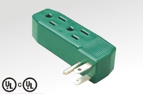 American power plug with socket Language OptionFrench