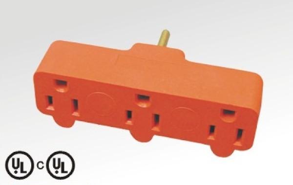 orange American Type Adapter