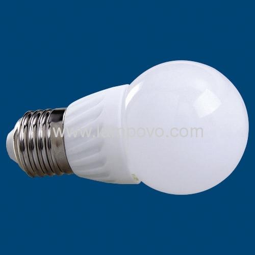 Ceramic Housing and Glass Cover 3.5W Ceramic LED BULB