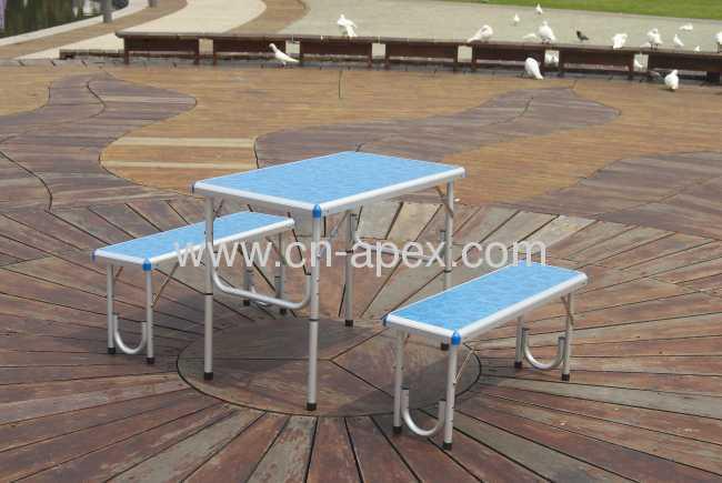 Aluminum 80x50x63 folding table