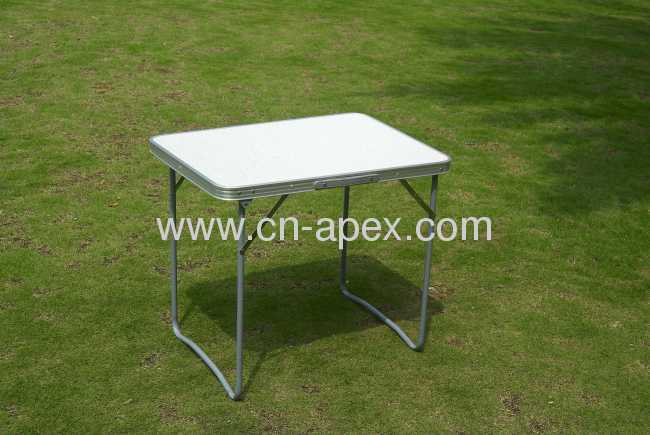 Simple outdoor leisure folding table