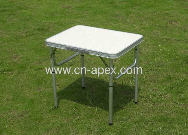 Portable Table, Aluminium Folding Table, Outdoor Furniture Laptop Table, Computer Desk