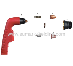 Plasma Cutting Torch; S45 Trafimet Torch