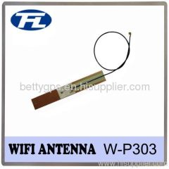 Wi-Fi Internal Patch Antenna RF1.13 Cable and 2.4GHz Frequency.