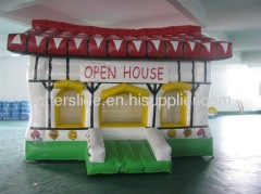 inflatable house bed for kids