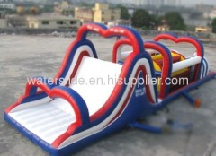 large obstacle challenge inflatable
