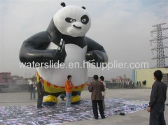 Inflatable panada animals