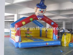 inflatable clown bouncy house