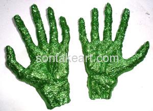 GLITTER SKELETON HANDS
