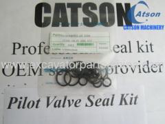 caterpiallar kobelco sumitomo kato daewoo pilot valve seal kit